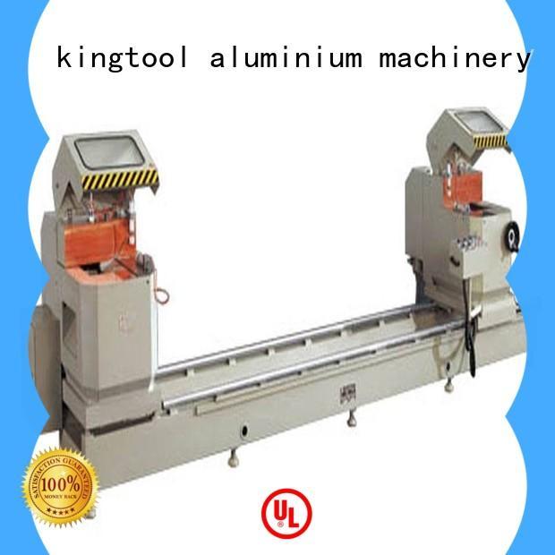 kingtool aluminium machinery inexpensive aluminum cutting machine price for aluminum door in factory
