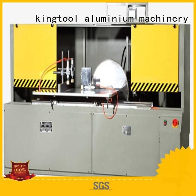 cutting machine aluminum curtain wall cutting machine saw kingtool aluminium machinery