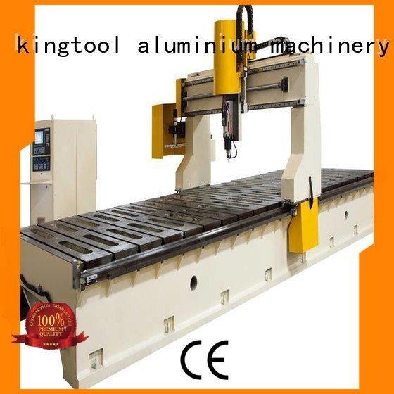 head center kingtool aluminium machinery aluminium router machine