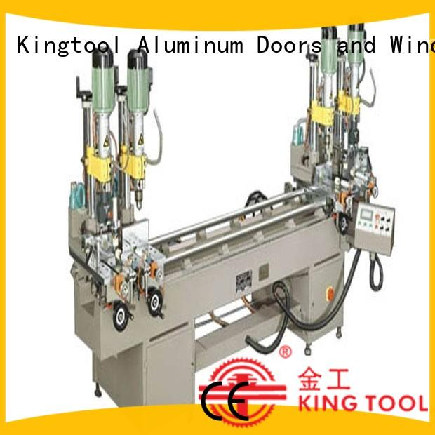 kingtool aluminium machinery stable metal drill machine with many colors for steel plate