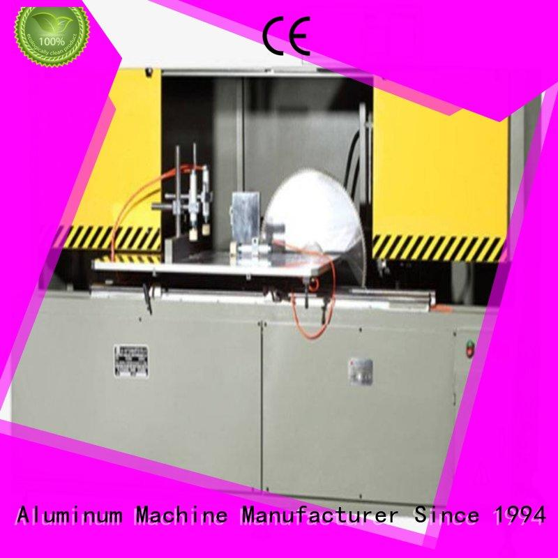 best aluminum curtain wall cutting machine wall for curtain wall profile in plant