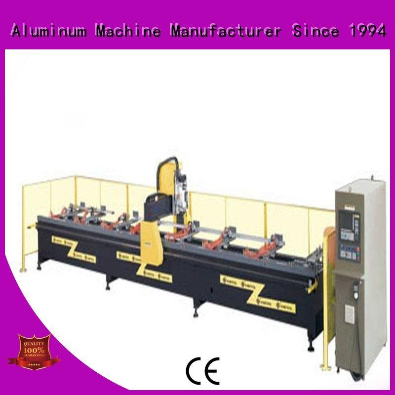 4-axis aluminum cnc machine router for steel plate kingtool aluminium machinery