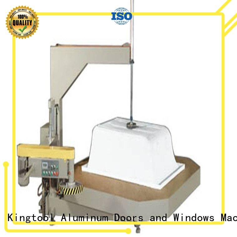 kingtool aluminium machinery easy-operating aluminium recycling machine from China for tapping