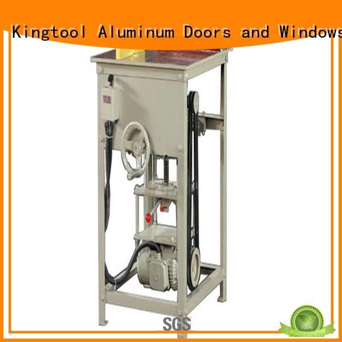 wall automatic angle kingtool aluminium machinery aluminium cutting machine