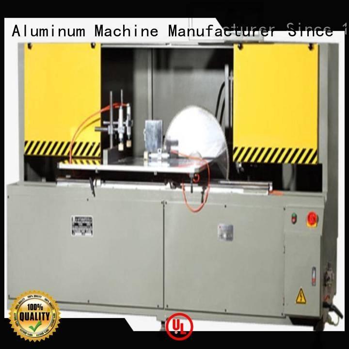 Custom aluminum curtain wall cutting machine single aluminium curtain kingtool aluminium machinery