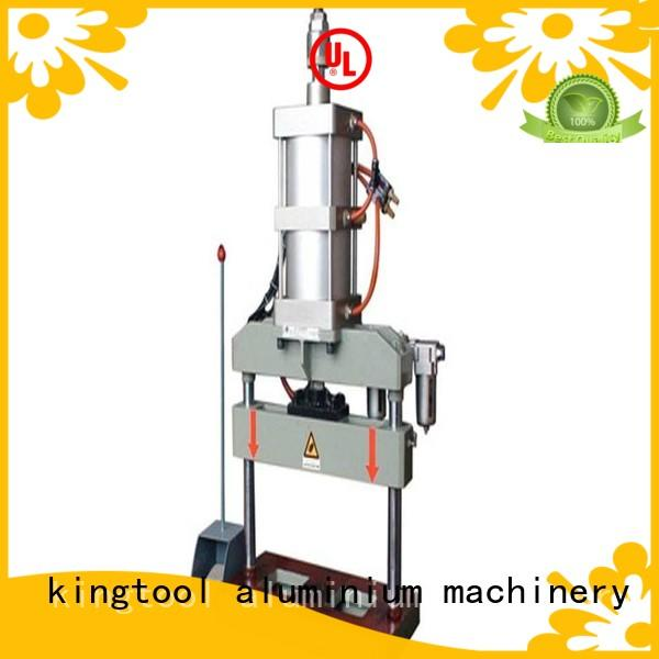 kingtool aluminium machinery precise manual aluminium punching machine oil for grooving