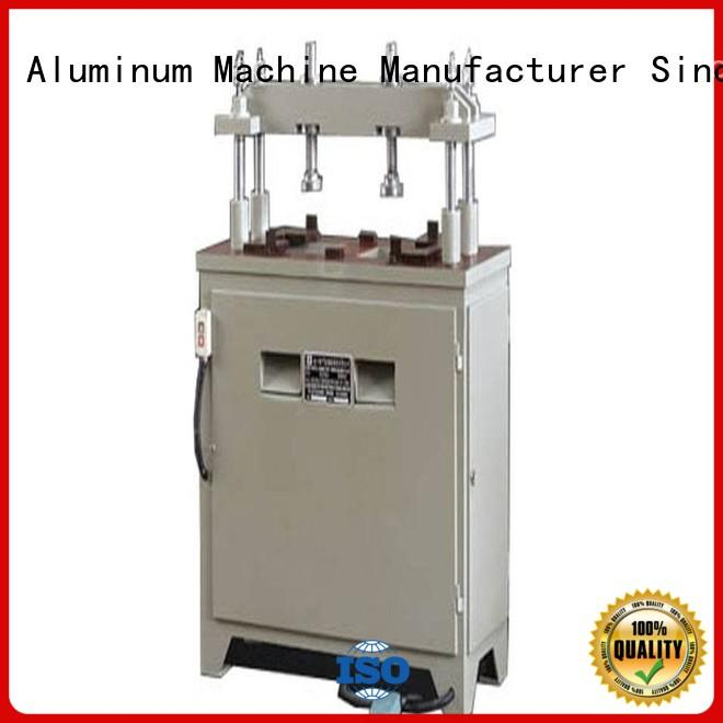 kingtool aluminium machinery eco-friendly steel hole punching machine free quote for steel plate
