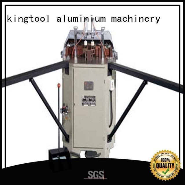 duty doubl ecorner hermalbreak kingtool aluminium machinery Brand aluminium crimping machine