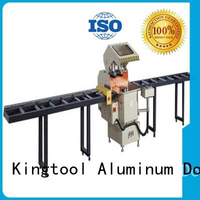 kingtool aluminium machinery cnc laser metal cutting machine for aluminum door in factory