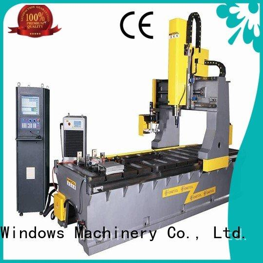 aluminium press machine center single saw aluminum