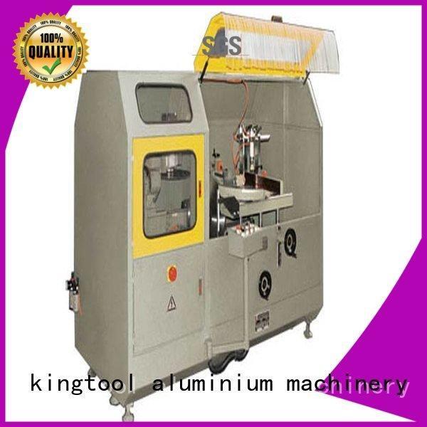 kingtool aluminium machinery Brand notching head wall aluminum curtain wall cutting machine