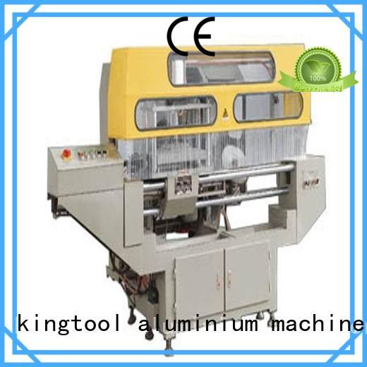 kingtool aluminium machinery curtain aluminum window end milling machine customization for PVC sheets