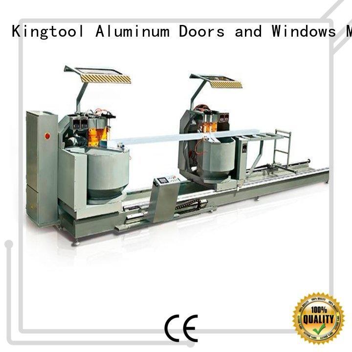 adjustable electronic cutting machine head for aluminum door in plant