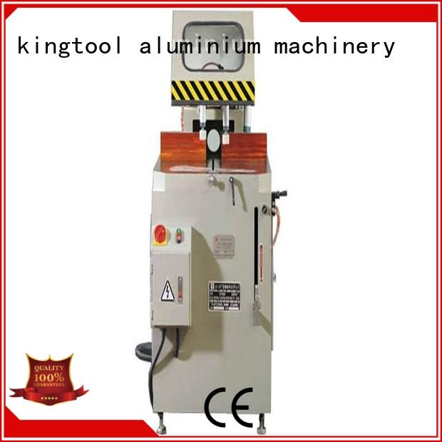 kingtool aluminium machinery durable cnc cutting machine for aluminum window in factory