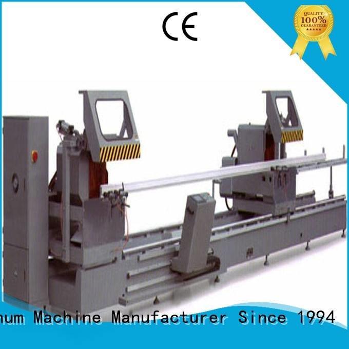 kingtool aluminium machinery Brand multifunction thermalbreak aluminium cutting machine price double heavy