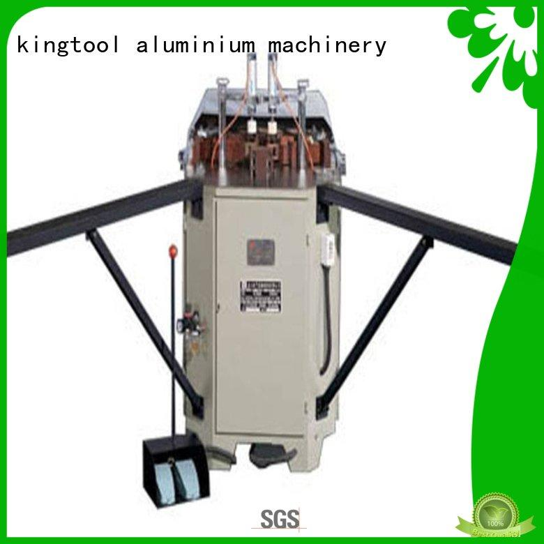 kingtool aluminium machinery easy-operating aluminium crimping machine suppliers with good price for engraving
