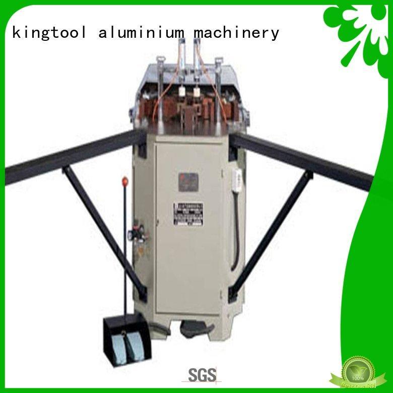 kingtool aluminium machinery easy-operating aluminium crimping machine suppliers with good price for engraving