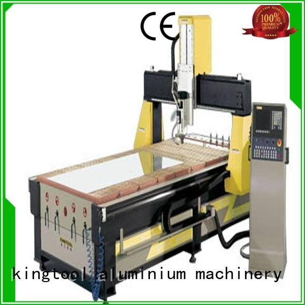 kingtool aluminium machinery cnc best cnc router from China for steel plate