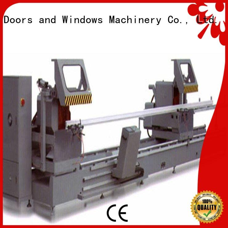 best aluminium cutting machines precision for curtain wall materials in factory
