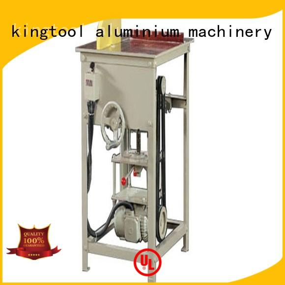 kingtool aluminium machinery first-rate types of cnc machine for plastic profile in factory