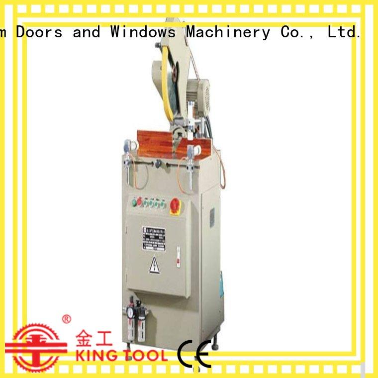 kingtool aluminium machinery Brand manual type aluminium cutting machine manufacture