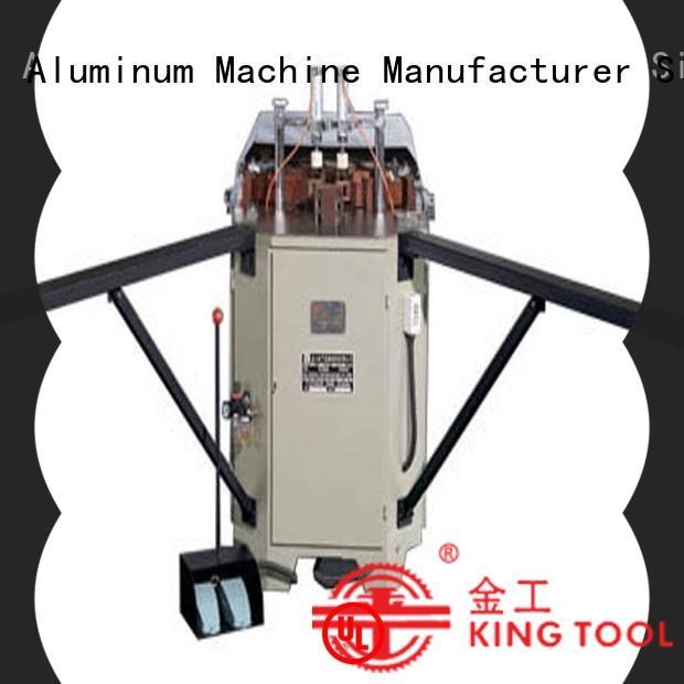 kingtool aluminium machinery al aluminium corner crimper for sale customization for engraving