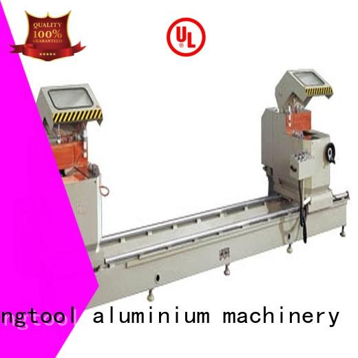 kingtool aluminium machinery multifunction aluminium cutter for heat-insulating materials in plant