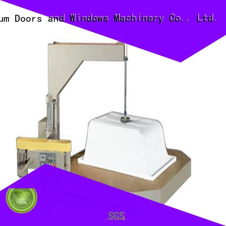 kingtool aluminium machinery Brand saw notching display sanitary profile cutting machine trimming