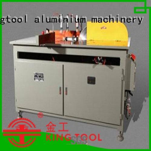 mitre double type aluminium cutting machine profiles kingtool aluminium machinery Brand