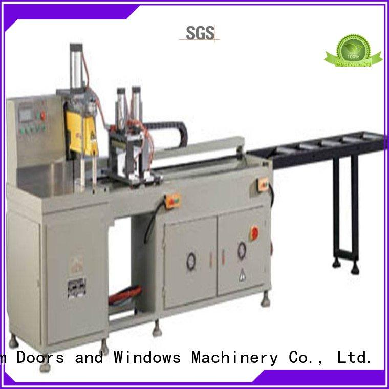 kingtool aluminium machinery multifunction aluminium sheet cutting machine for curtain wall materials in plant