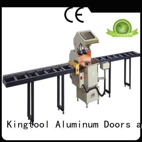 best aluminum laser cutting machine for aluminum window in plant kingtool aluminium machinery