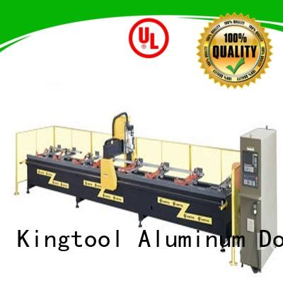 kingtool aluminium machinery profile aluminum cnc machine China factory for steel plate