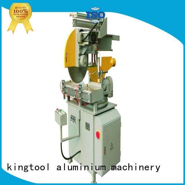 various double wall 45degree kingtool aluminium machinery aluminium cutting machine price