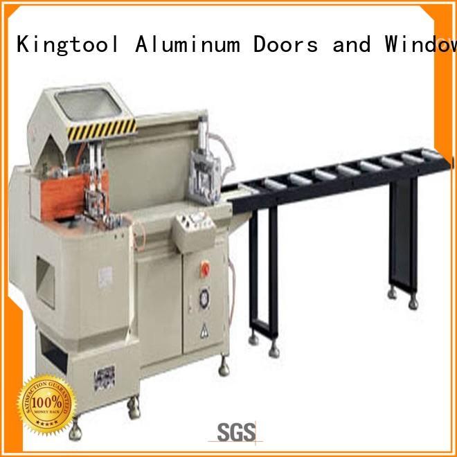 kingtool aluminium machinery stable aluminium cutting machine for plastic profile in workshop