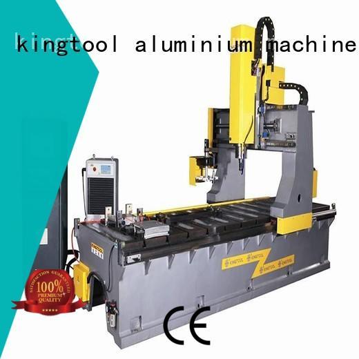 kingtool aluminium machinery Brand welding heavyduty curtain wall machine manufacture