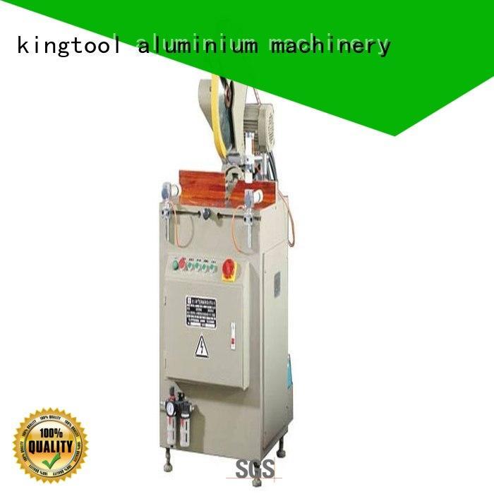kingtool aluminium machinery eco-friendly aluminium section cutting machine for aluminum curtain wall in plant