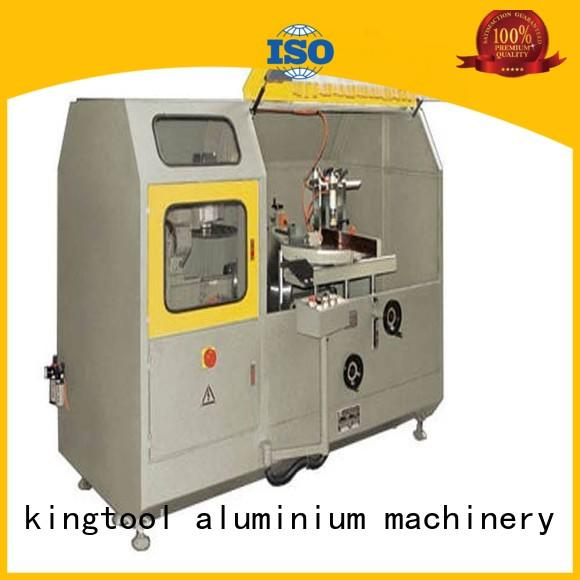 eco-friendly aluminum curtain wall cutting machine cutting for door profile in workshop
