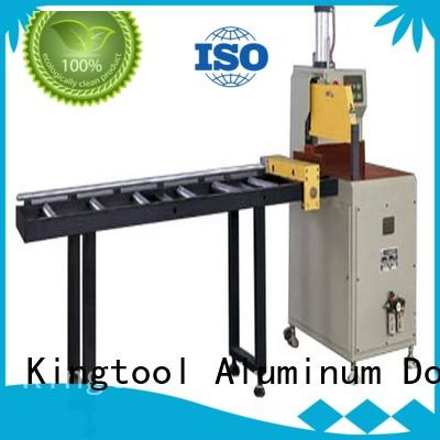 kingtool aluminium machinery stable aluminium cutting machine price for aluminum curtain wall in factory