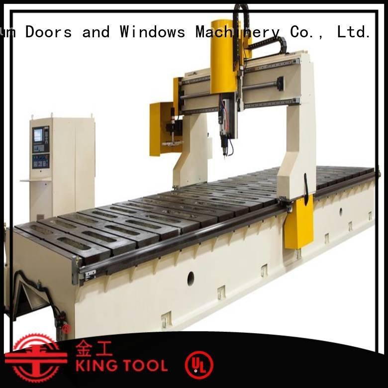 kingtool aluminium machinery head aluminium router machine router profile