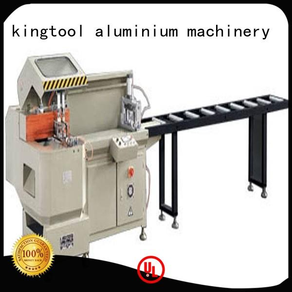 various curtain aluminium cutting machine multifunction automatic kingtool aluminium machinery company