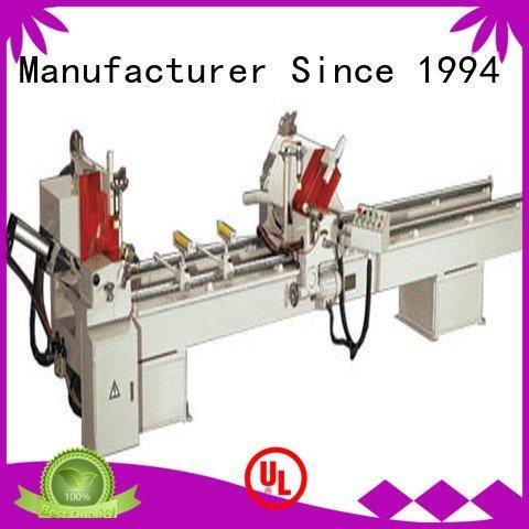 kingtool aluminium machinery single curtain 3axis aluminium cutting machine price angle