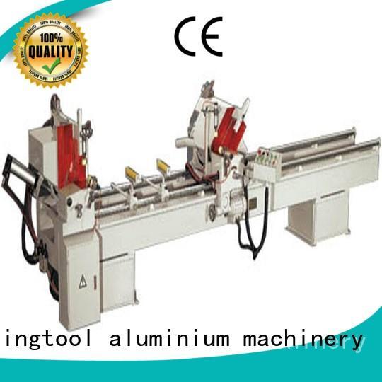 2axis curtain aluminium cutting machine price thermalbreak kingtool aluminium machinery company