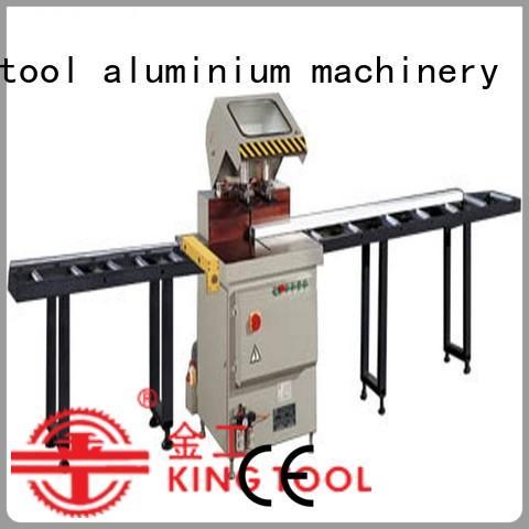 type readout 2axis aluminium cutting machine window kingtool aluminium machinery Brand