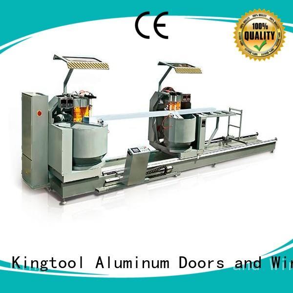 adjustable aluminium profile cutting machine cnc for plastic profile in plant