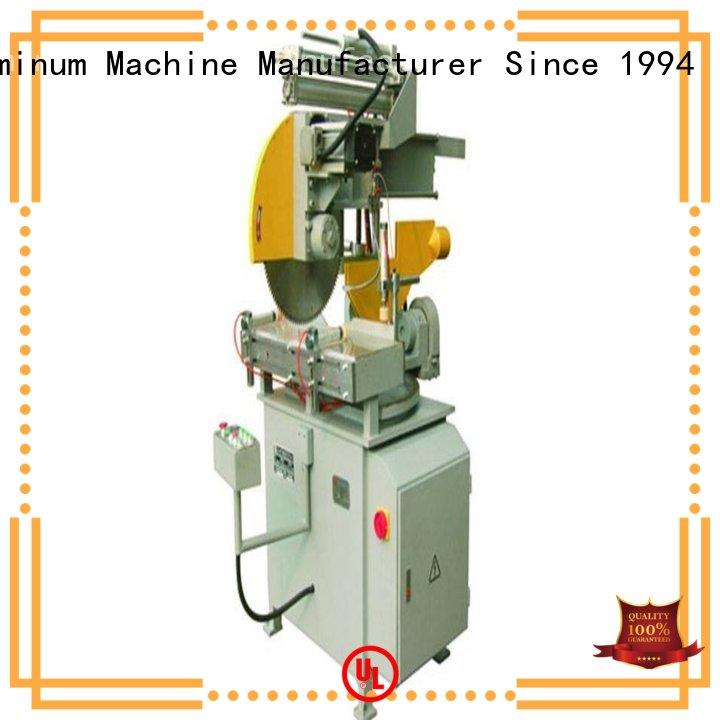 inexpensive metal cutting machine single for plastic profile in workshop