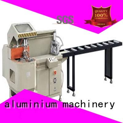 adjustable aluminum laser cutting machine for curtain wall materials in workshop