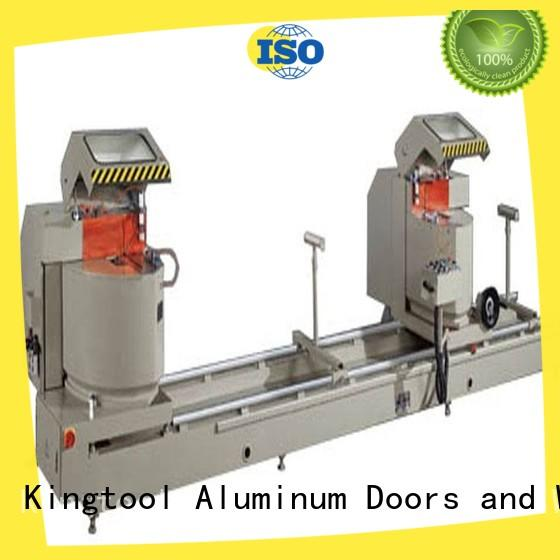 easy-operating core cutting machine profiles for aluminum curtain wall in plant