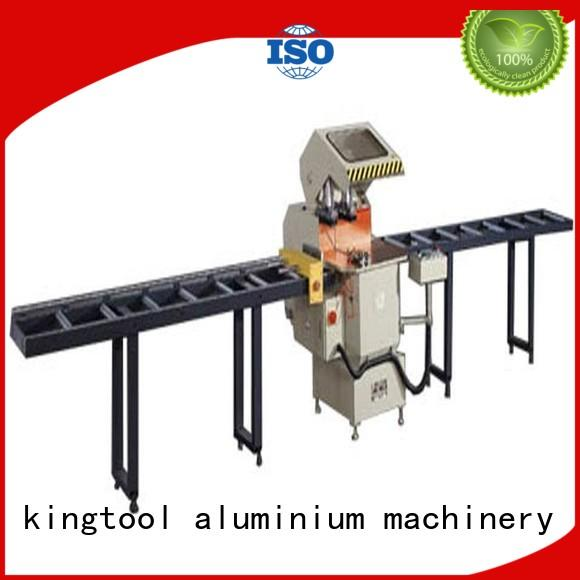 kingtool aluminium machinery easy-operating metal cutting machine for aluminum curtain wall in workshop