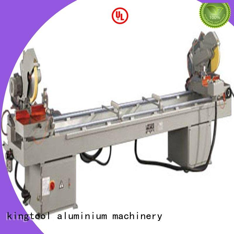 full aluminium laser cutting machine autofeeding in factory kingtool aluminium machinery
