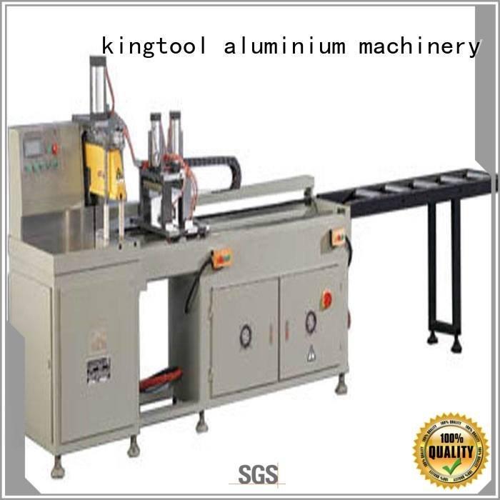 kingtool aluminium machinery 45degree thermalbreak aluminium cutting machine cutting aluminum